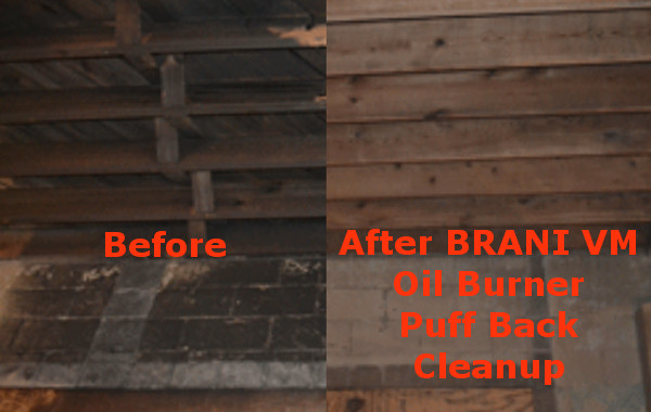 Oil Burner Puff Back Cleanup In Ct Call 203 502 9643